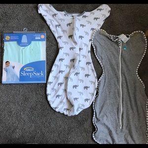 6 sleep sack baby boy bundle- 0-6m